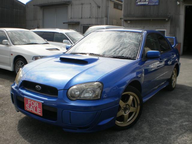 スバル WRX 2003 Vリミテッド フジツボマフラ ナビ 地デジ