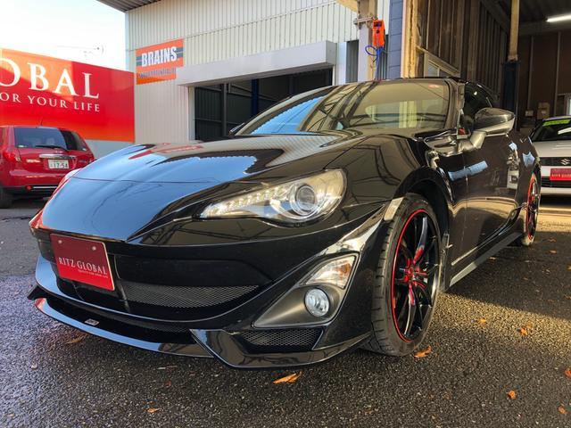 トヨタ GT 6速MT TOM'S・モデリスタバンパー・TRDサイド