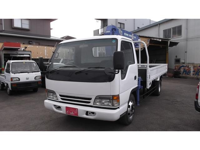 日産 4段クレーン ラジコン付 荷台420x208