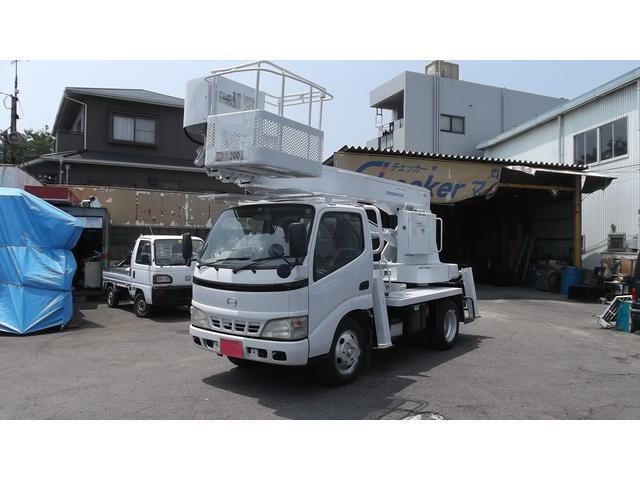 日野 高所作業車SS12A