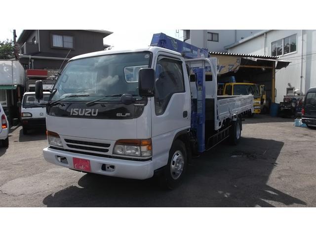 いすゞ ハイジャッキ5段ラジコンクレーンフックイン