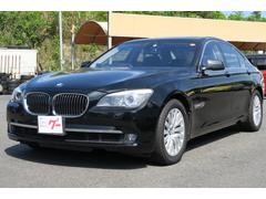 BMW750i ナビ バックモニター 本革パワーシート
