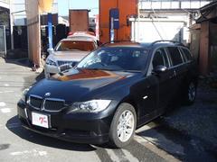 BMW320iツーリング ハイラインパッケージ 黒革シート HID