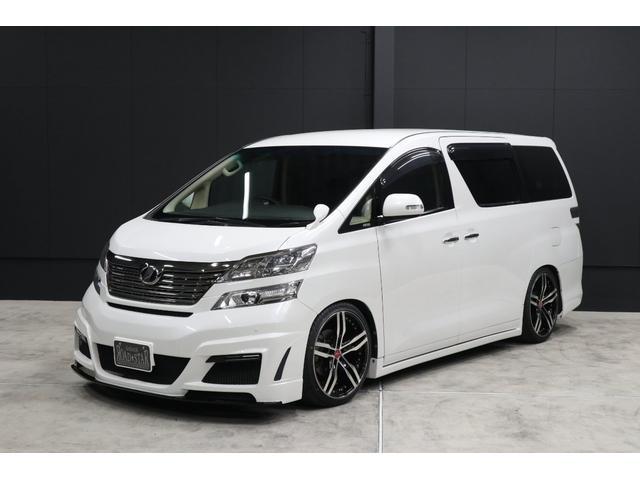 トヨタ 2.4X HDDナビ アドミレーションエアロ 20AW車高調