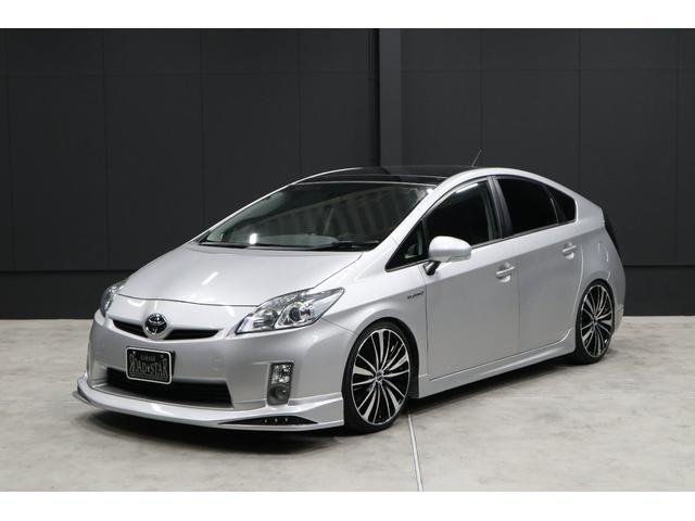 S サンルーフ SDナビ 新品エアロ 新品19AW新品車高調(1枚目)