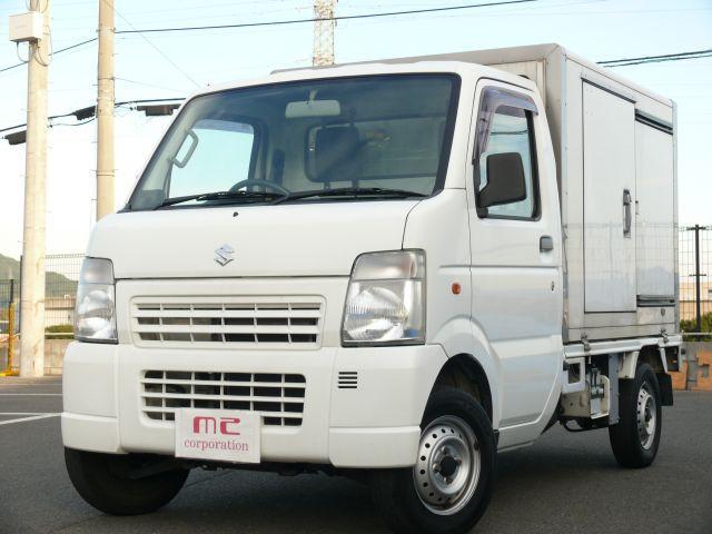 中温冷蔵冷凍車−5℃ Tチェーン パートタイム4WD FM