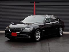 BMW740i ディーラー車 左ハンドル サンルーフ 革シート