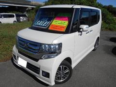N BOX+カスタムG・Lパッケージ Tチェーン パワースライド HIDライト