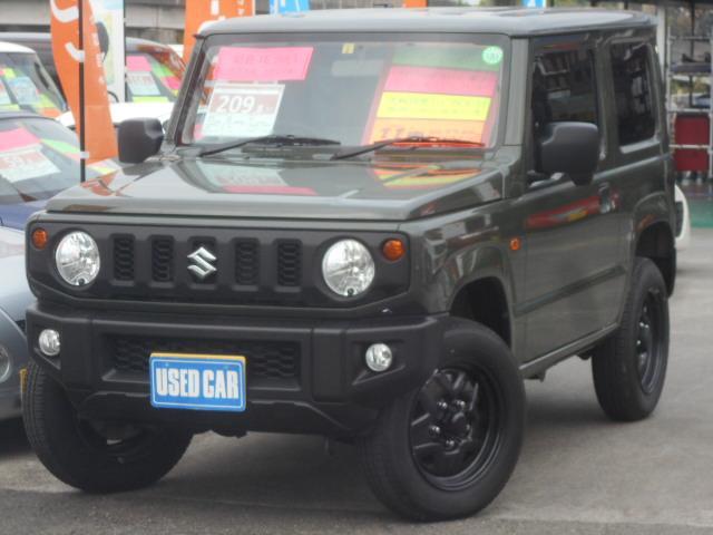 スズキ ジムニー XG 4WD 5F ワンオーナー 8インチHDDナビ 記録簿