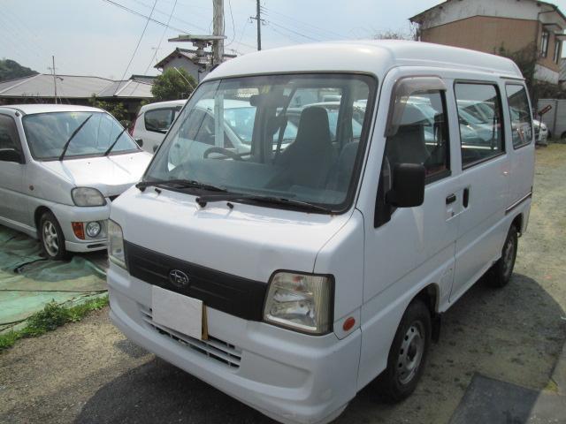 「スバル」「サンバーバン」「軽自動車」「福岡県」の中古車