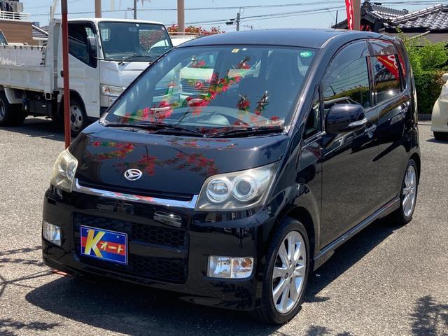 ダイハツ カスタム RS ターボ ETC 電動格納ミラー スマートキー