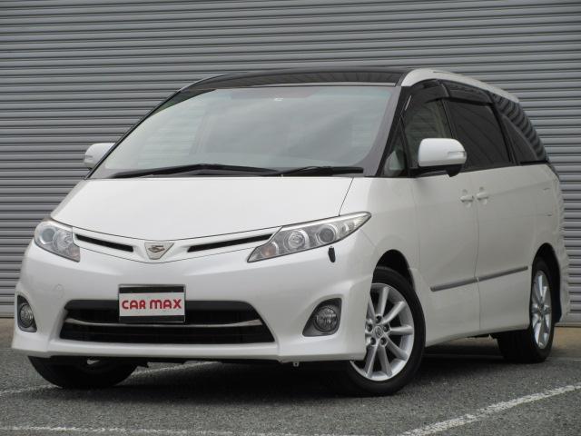 トヨタ 2.4アエラス Gエディション 2年保証 純正メモリーナビ