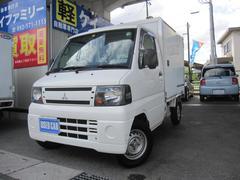 ミニキャブトラックVタイプマイナス5度冷蔵冷凍車サイドドアパワステエアコン