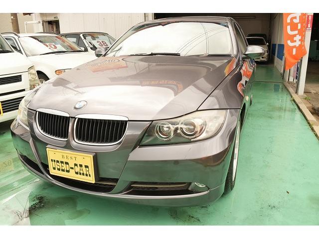 BMW 320i ワンオーナー修歴ナシ HDDナビ パワーシート
