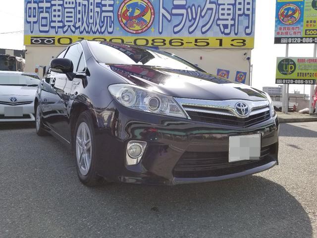 トヨタ SAI S パワーシート バックモニター スマートキー ETC 禁煙
