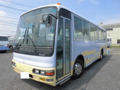 三菱ふそう53人乗り 中型バス 47席 自動ドア