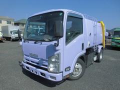 エルフトラックパッカー車 回転式 ダンプ式 5立米