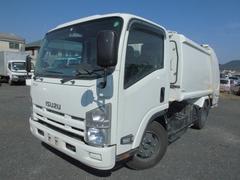 エルフトラック3t パッカー車 6立米 プレス式