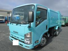 エルフトラックパッカー車 回転式 ダンプ式 5.1立米
