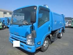 エルフトラック3T パッカー車 回転式 ダンプ式 6.5立米