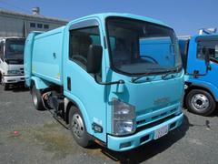 エルフトラック5.1立米 パッカー車 回転式 ダンプ式
