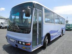 三菱ふそう中型バス 46席 51人乗り 自動ドア モケットシート