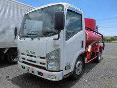 エルフトラック3T バキュームカー 糞尿車 3000L バキューム車