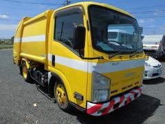 エルフトラック2t パッカー車 プレス式 押し出し式 塵芥車 ゴミ収集車