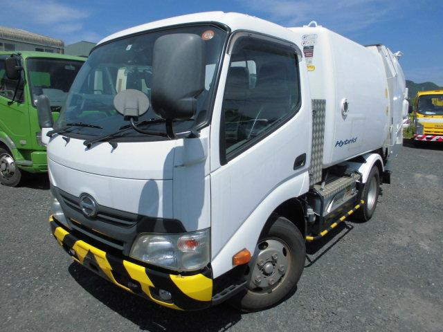 日野 2T パッカー車 塵芥車 回転式 5立米 ダンプ式