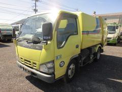 エルフトラック2T パッカー車 塵芥車 回転式 5立米 ダンプ式