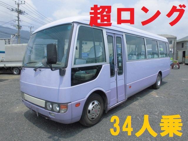 三菱ふそう 34人乗り マイクロバス スーパーロング 自動ドア付