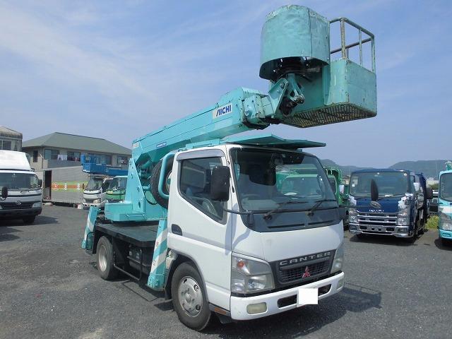 三菱ふそう 高所作業車 12M バケット車 アイチ製 SS12A