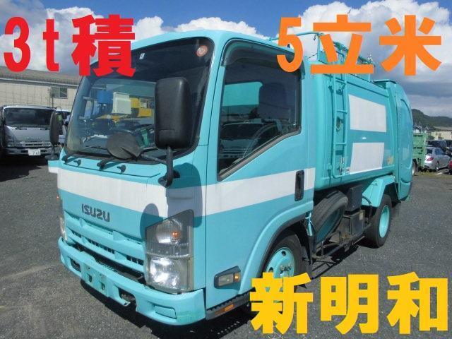 いすゞ 3T パッカー車 回転式 ダンプ式 5立米 ゴミ収集車