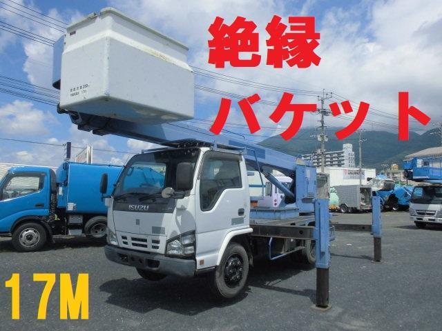 いすゞ 高所作業車 17M 絶縁バケット車 タダノ AT-170TG