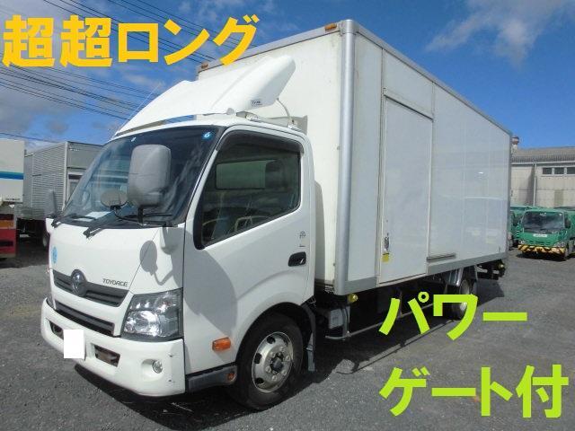 トヨタ ワイド 超超ロング 3.5t ドライバン パワーゲート付