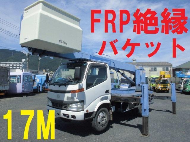 日野 17M 高所作業車 タダノ AT-170TG 絶縁バケット