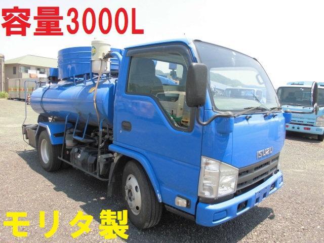 いすゞ 3t バキュームカー 3000L 糞尿車 清掃車 タンク車