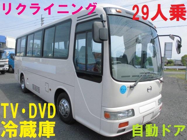 日野 29人乗り モケリク テレビ DVD 冷蔵庫 自動ドア