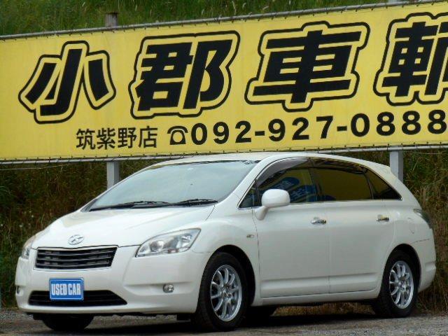 トヨタ 350G 社外HDDナビ フルセグ DVD再生 ローダウン