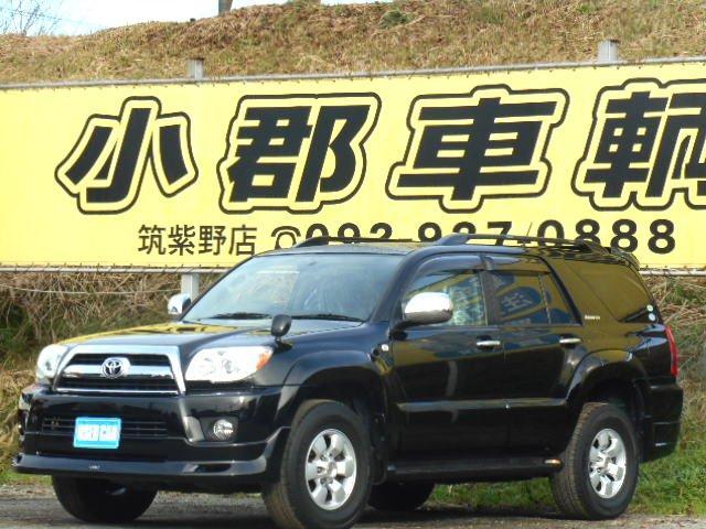 トヨタ SSR-XLTD 後期型 4WD 純正HDDナビ DVD再生