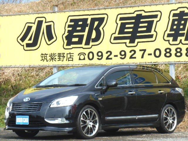 トヨタ 240F 社外HDDナビ フルセク バックカメラ DVD再生