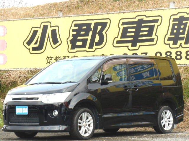 三菱 ローデスト S(カスタマイズパッケージA) 社外HDDナビ