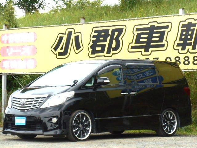 トヨタ 240S 純正HDDナビ フルセグTV 両側パワースライド