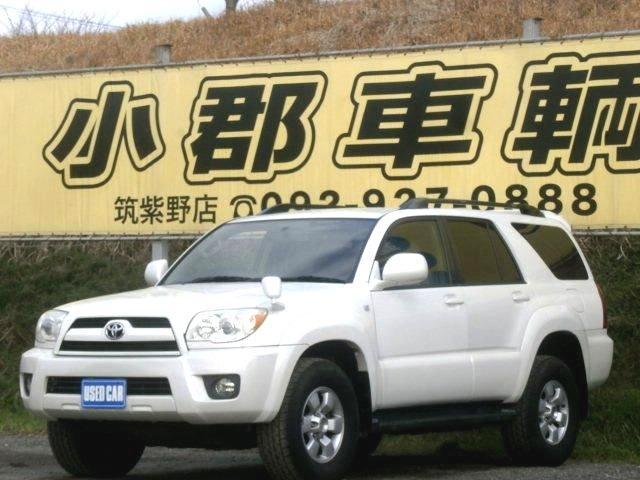 トヨタ ハイラックスサーフ SSR-X ワンオーナー キーレス 純正アルミ