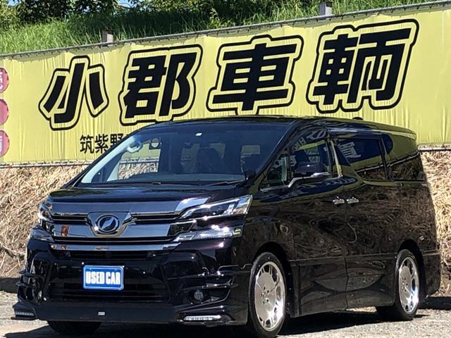 トヨタ 2.5Z Aエディション プリクラッシュ TRDフルエアロ 社外19AW 純正SDナビ 両側パワスラ フルセグ フリップダウン レーダークルーズ 社外マフラー ブルートゥース ビルトインETC LEDライト
