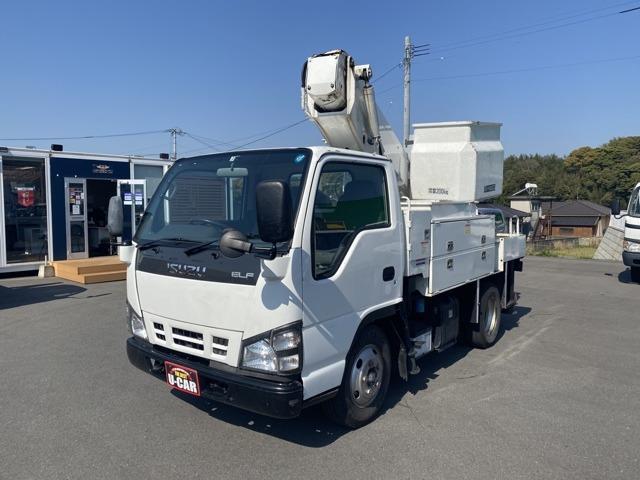いすゞ 高所作業車 地上高9.9m バケット積載荷重200キロ