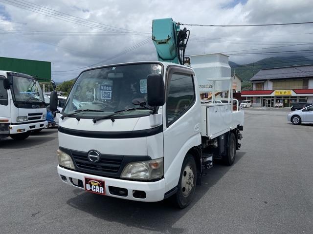 日野 高所作業車 ターボ 地上高9.9m バケット積載荷重200K