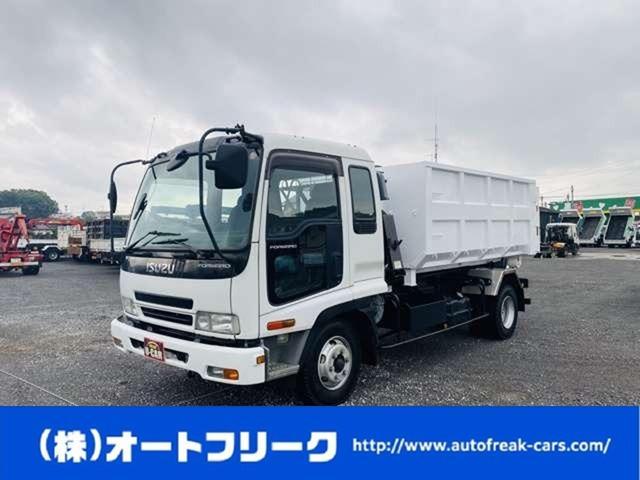 いすゞ  4tアームロール Wシリンダー 新品箱付 脱着式コンテナ 4トンフックロールベッド付