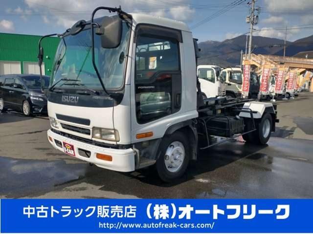 いすゞ  4トンアームロール 新品コンテナ付 外装仕上済 フックロール 4t脱着式コンテナ