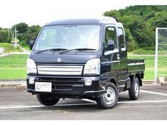 キャリイトラック 660 スーパーキャリイ X 3方開 4WD セーフティサポート付 届出済未使用車